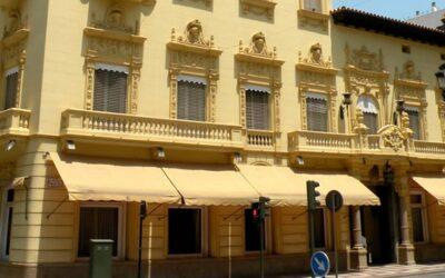 Motorización de los toldos del Casino Antiguo de Castellón