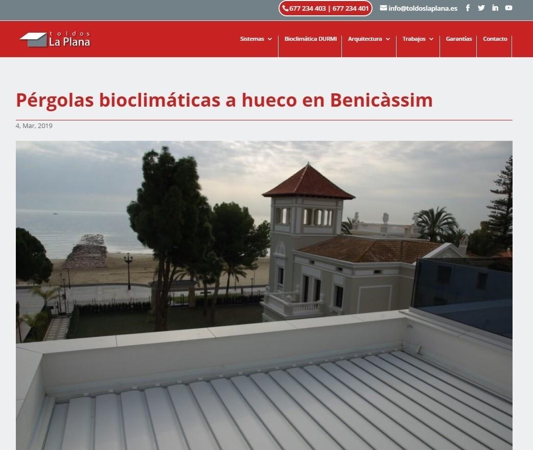 pergola bioclimatica
