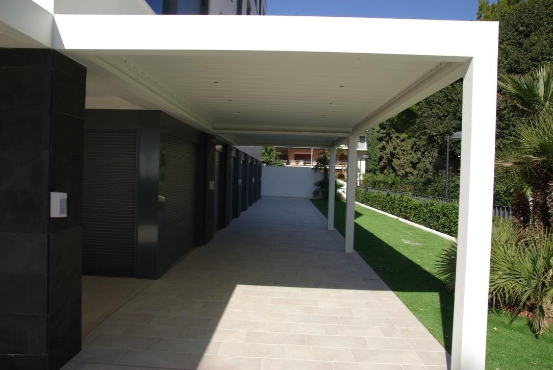 Pergolas bioclimáticas terraza Benicàssim
