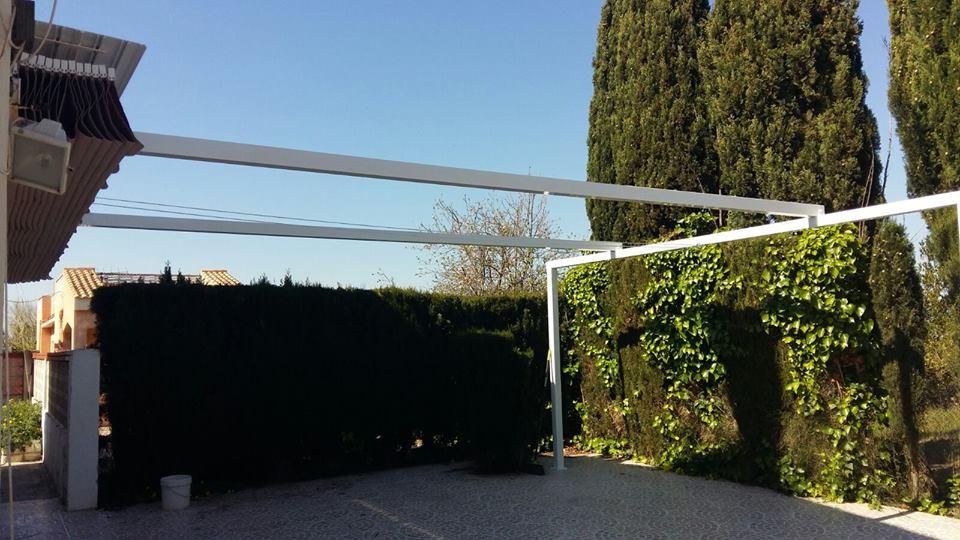 toldos planos terraza Castellón Oropesa
