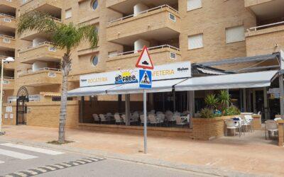Toldos para hostelería en Marina d´Or (Oropesa del Mar)