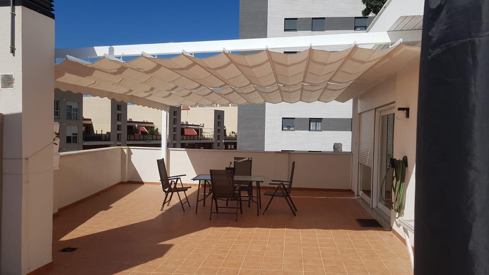 toldo plano terraza Castellón