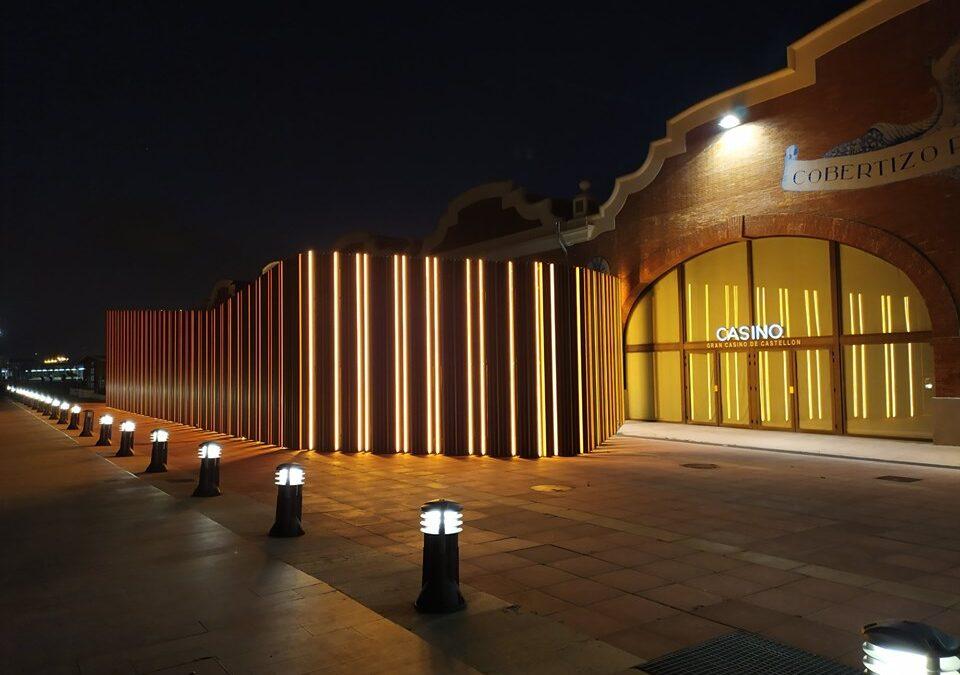 21 pérgolas bioclimáticas de Saxun en el Gran Casino de Castellón