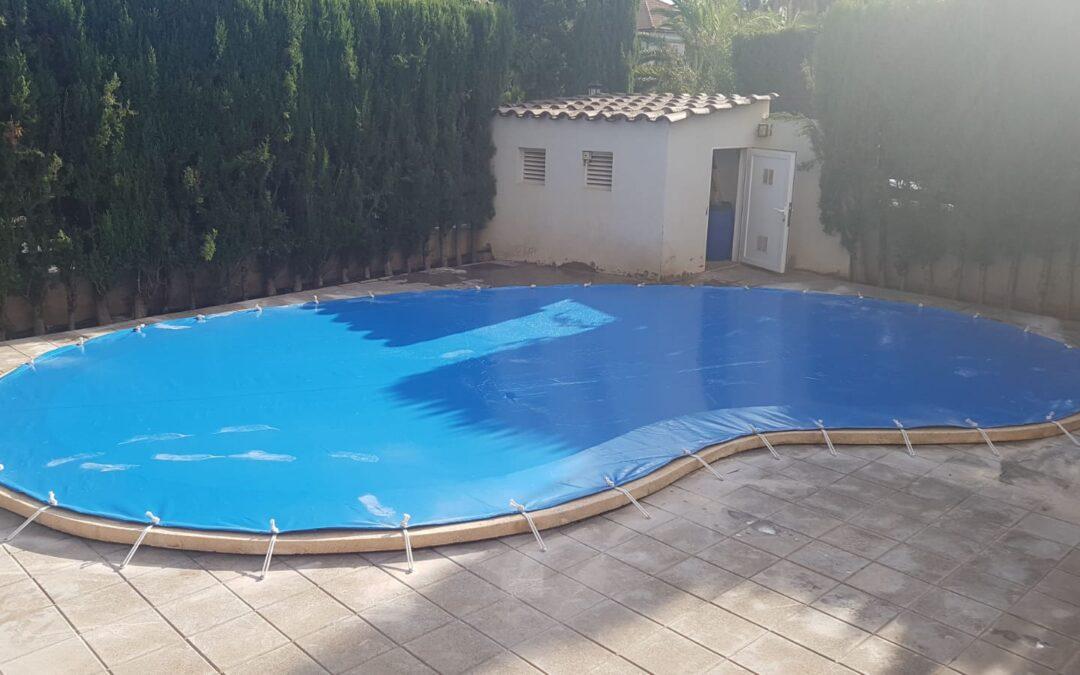 Cubiertas de invierno para piscina en PVC en Castellón