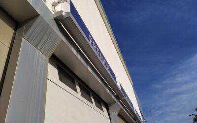 3 toldos cofre 4,50m x 3,00m motorizados en Onda (Castellon)