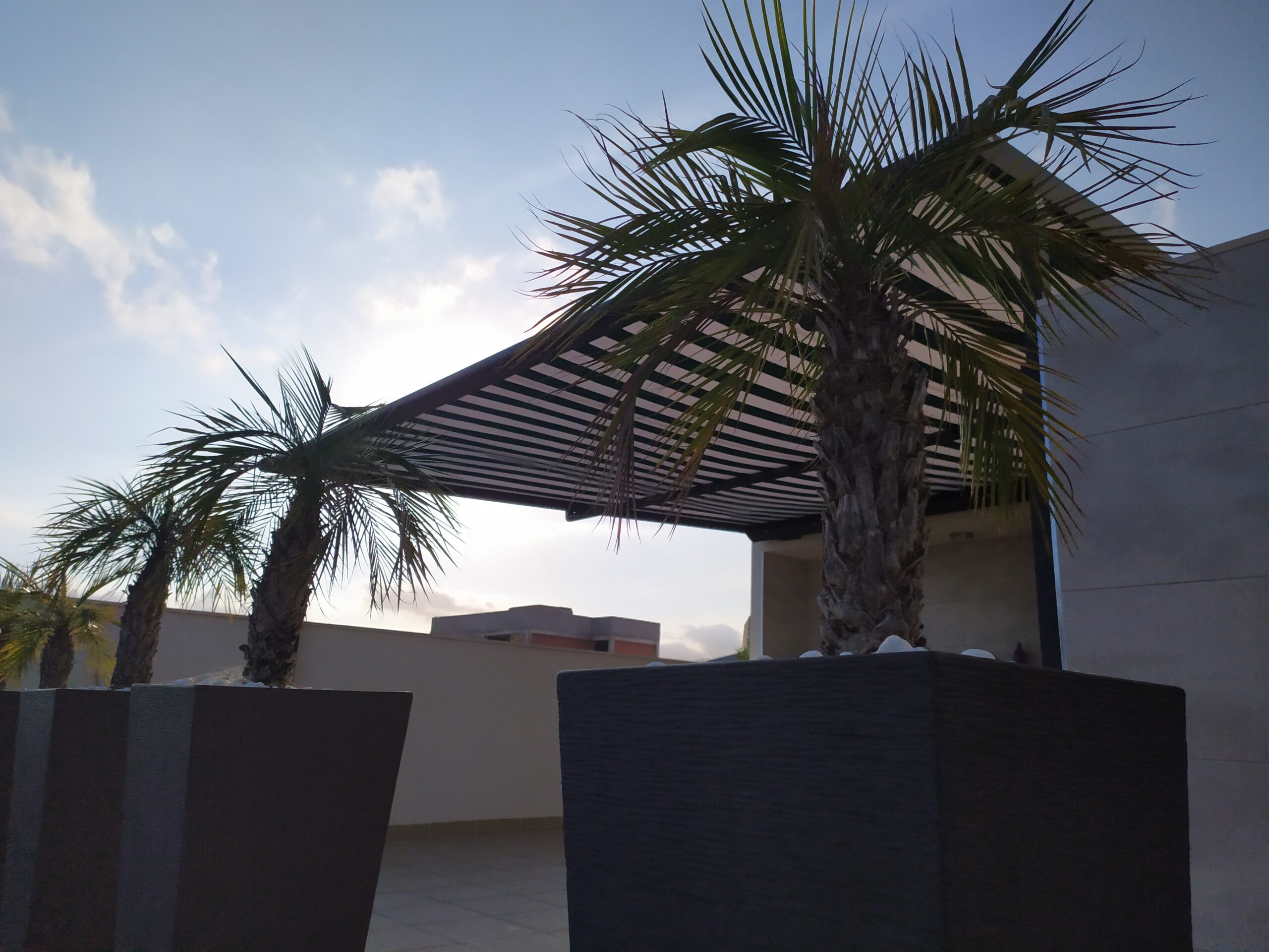 Plaza Viva Weinor Vinaroz Castellón