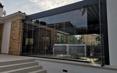 Pérgola bioclimática duplex 8,00m x 5,85m en Benicàssim